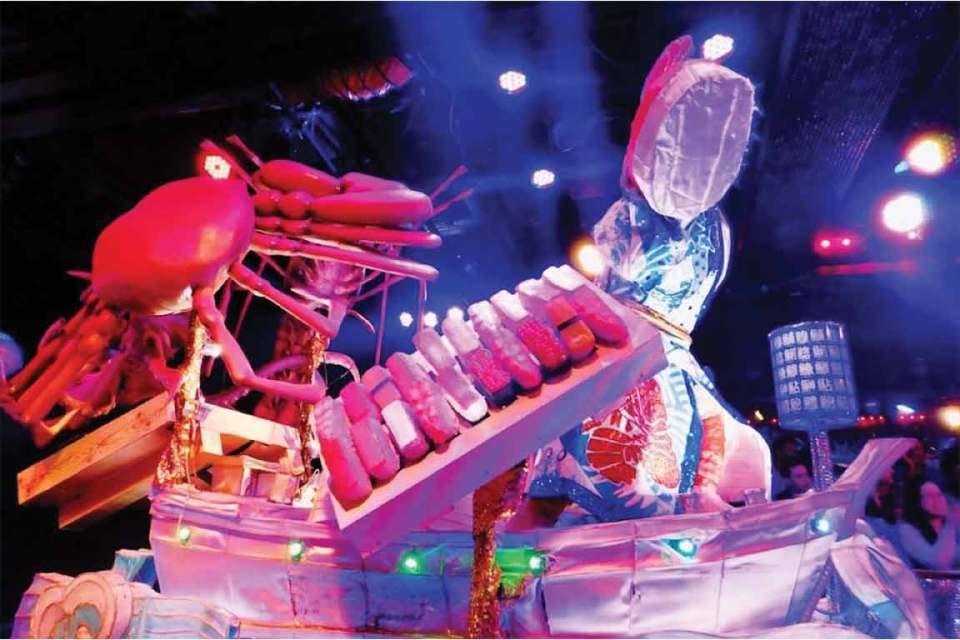 tokyo robot show robot sushi