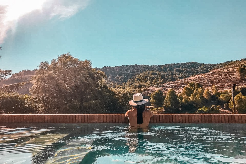 Where to Stay in Spain Terra Dominicata Pool