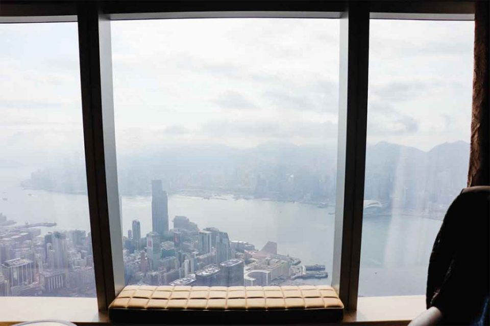 Ritz Carlton Hong Kong Room View