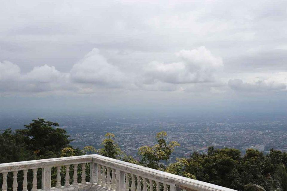 views from Doi Suthep Chiang Mai