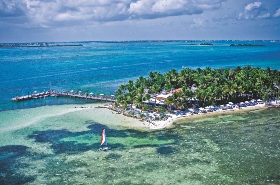 summer vacation little palm island