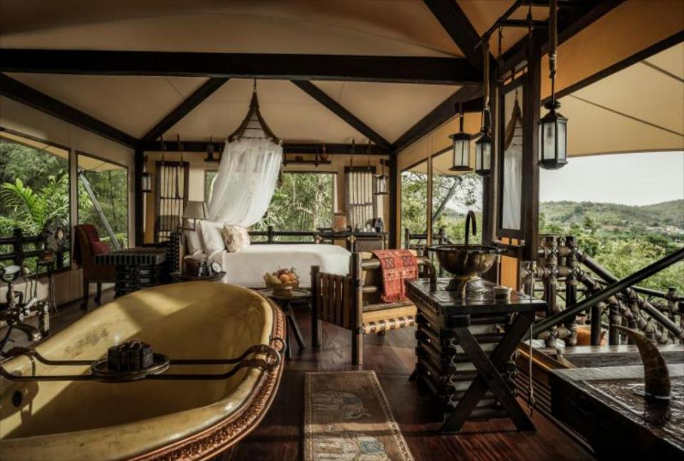 Four Seasons Tented Camp MT Love List