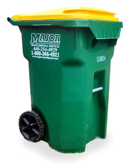 Major Waste Disposal 64 Gallon Bin