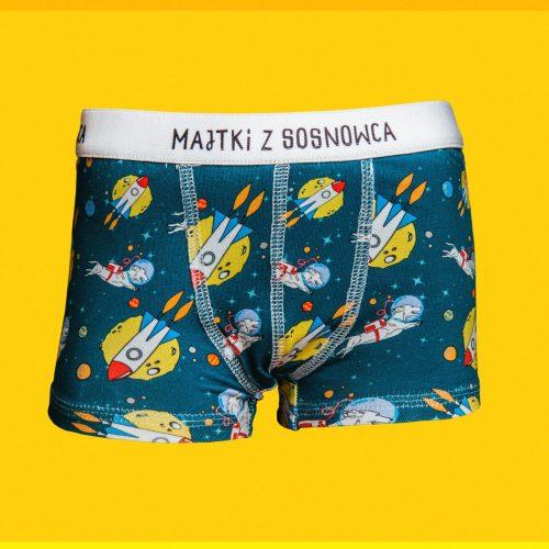 Majtusie z Sosnowca – bokserki chłopięce