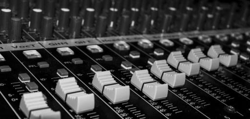 Audio sound board sliders