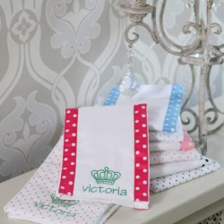 SwaddleDesigns® Baby Burpies (Set of Two)