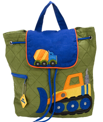 Construction Stephen Joseph Quilted Backpack