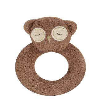 Angel Dear Ring Rattle Owl