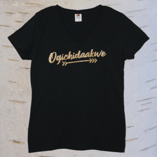 image of ogichidaakwe v neck