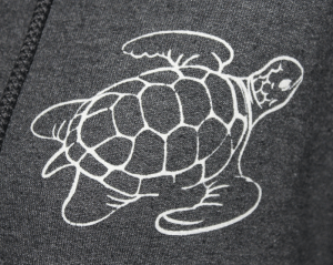 close up of turtle print