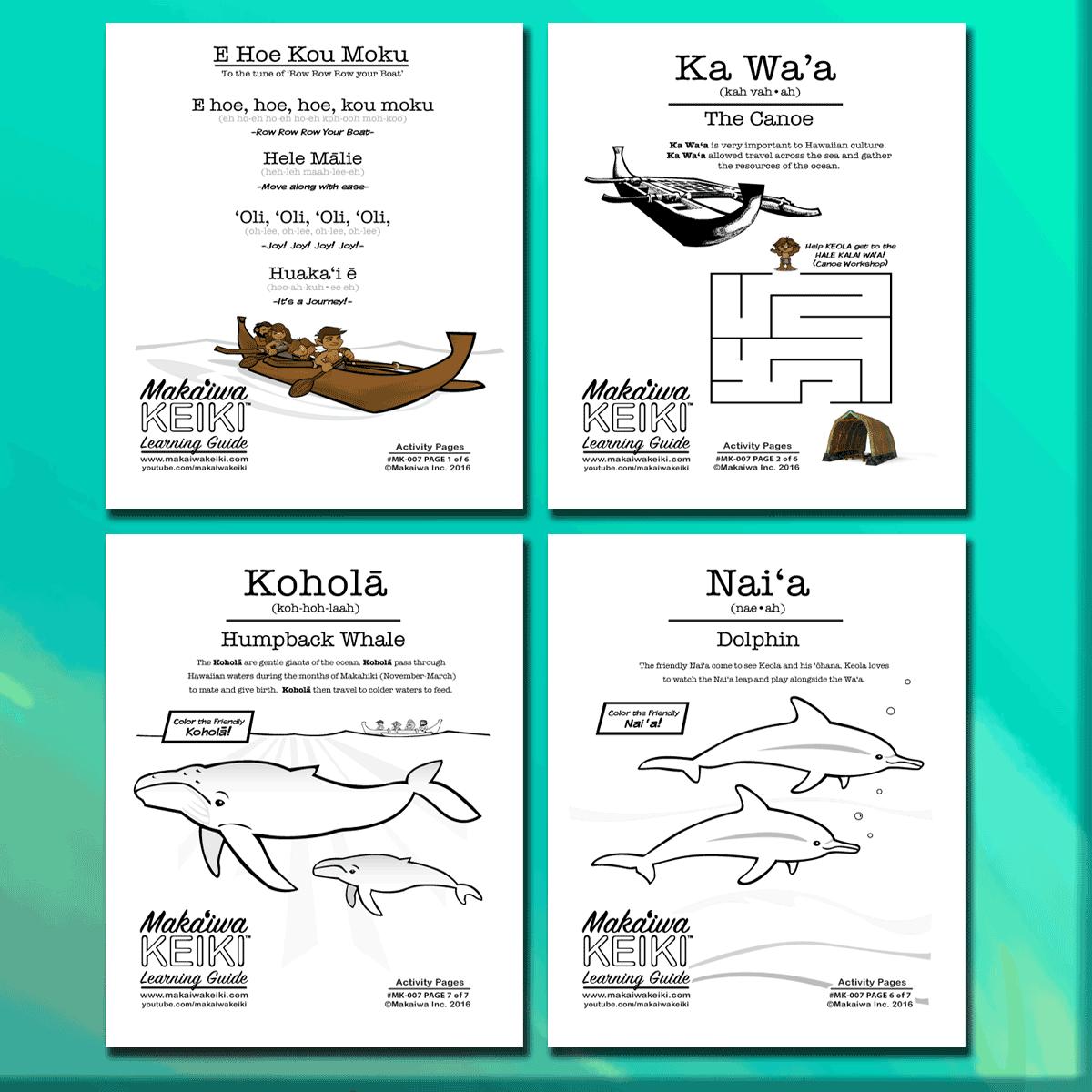 A Hawaiian Nursery Rhyme Row Your Boat