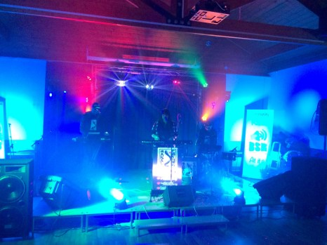 BSR live radio event by Andy Ward