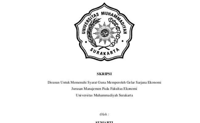 Contoh Judul Skripsi Manajemen Keuangan Terbaru Kumpulan Berbagai Skripsi Cute766