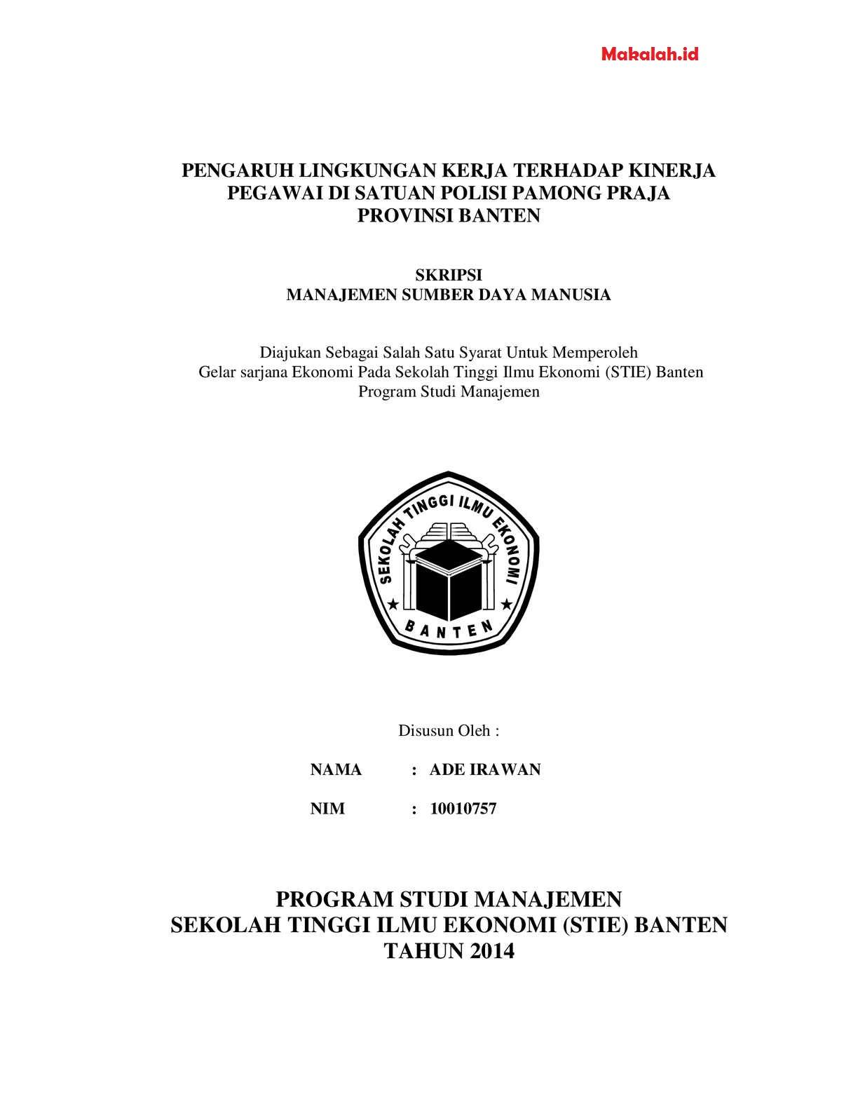 Topik Skripsi Manajemen Keuangan : topik, skripsi, manajemen, keuangan, Skripsi, Manajemen, Keuangan, Pejuang