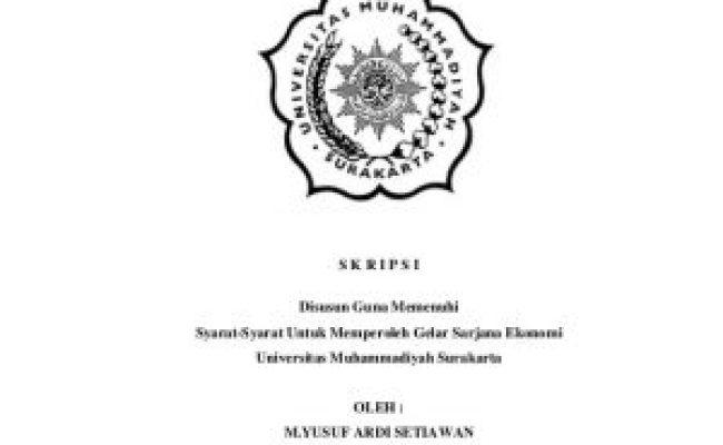 Contoh Skripsi Akuntansi Keuangan Yang Mudah Contoh Soal Dan Materi Pelajaran 8