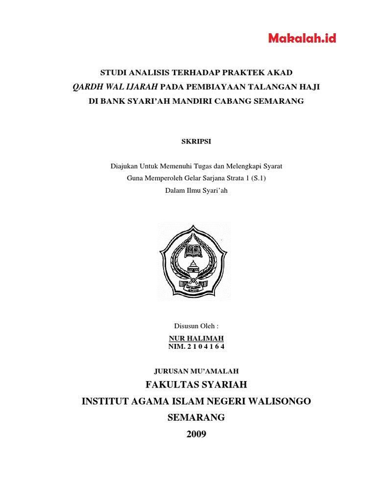 Judul Skripsi Perbankan Syariah : judul, skripsi, perbankan, syariah, 150++, Judul, Skripsi, Ekonomi, Islam, Terbaik