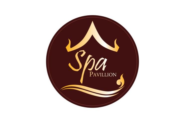 Spa Pavillion logo design ผลงานการออกแบบโลโก้ของ makamstories.com