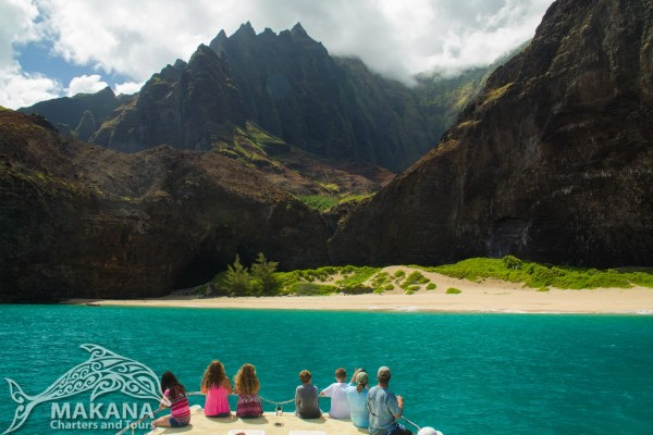 Na Pali Coast Tour Honopu - Makana Charters Boat Tours