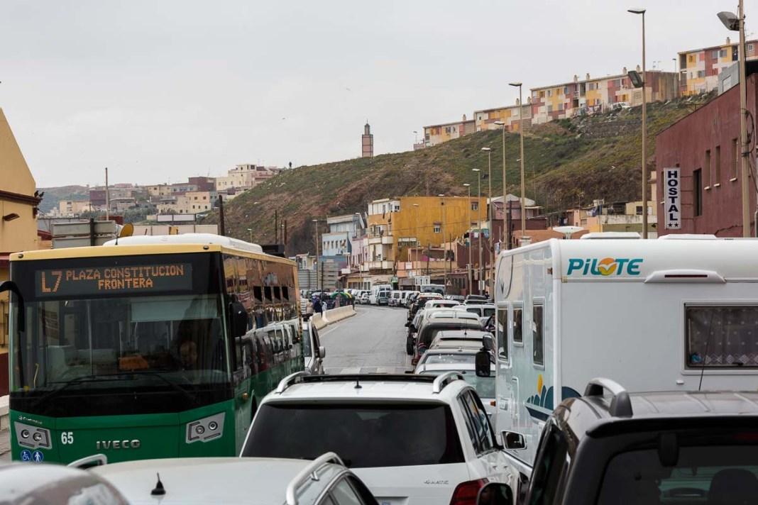 Endlose Schlangen an der Grenze zu Ceuta