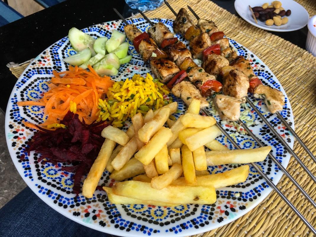 Klassisches Kebab - sehr sehr lecker