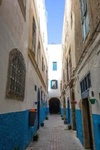 Die kleinen Gassen in der Medina - dort ist auch unser Riad