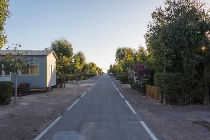 Camping Atlantic Parc 15 km außerhalb von Agadir