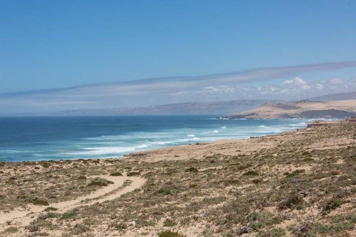 Der Küstenabschnitt zwischen Agadir und Essaouria ist sehr schön