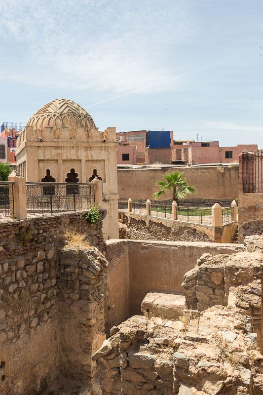 Ausgrabungen nahe der Moschee