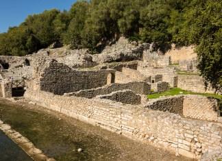 Butrint Ausgrabungsstätte