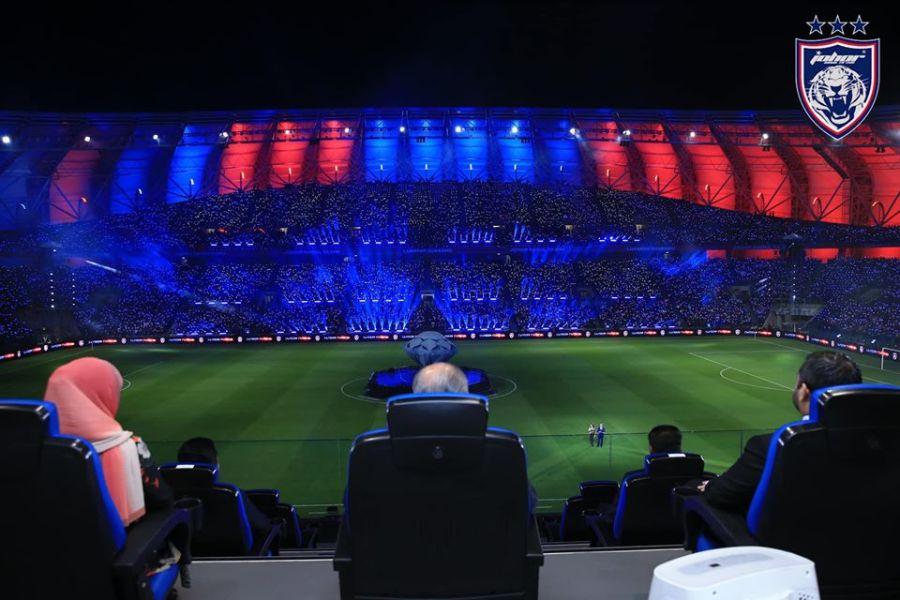 87148247 1603510516478908 2523567386917863424 o Persis Liga Juara-Juara UEFA, Stadium Sultan Ibrahim Dibuka Secara Rasminya