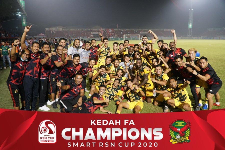Juara Kedah Juara Piala Smart RSN Kemboja