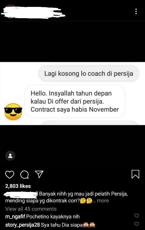 Pesawat MAS MALAYSIA 10 Aidil Sharin Bakal Kemudi Persija Jakarta?