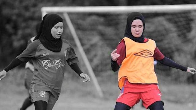 cantik Gadis Manis Berjiwa Bola Sepak Sanggup Tolak Tawaran Jadi Model