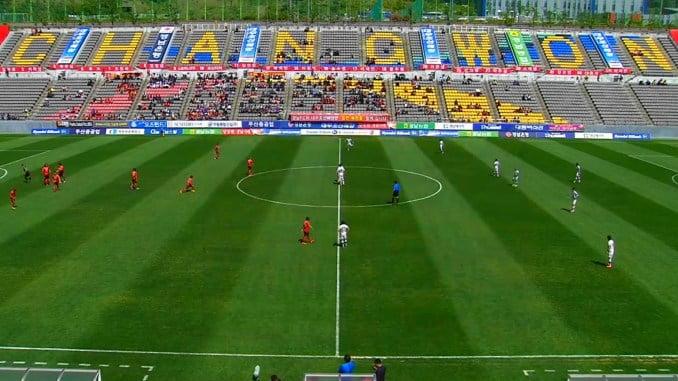 gyeongnam vs jeju united stadium 1 Bola Sepak Korea Semakin Hilang Seri