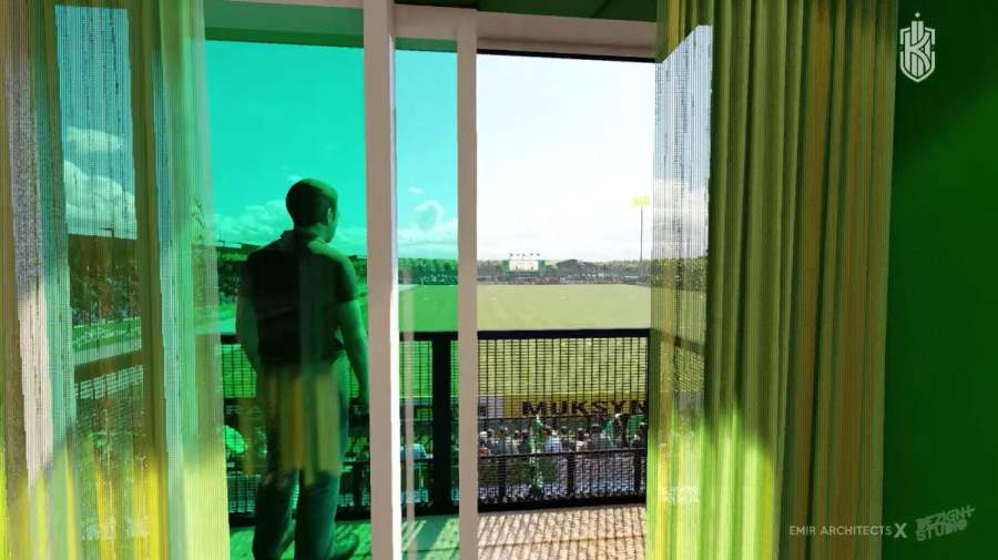 hotel container kerteh fc Konsep Rekabentuk Stadium Kerteh FC Diperkenalkan
