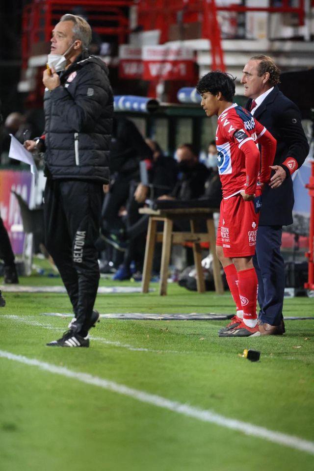 luqman debut jupiter pro league Fizikal Luqman Hakim Di KV Kortrijk Menunjukkan Perkembangan Positif