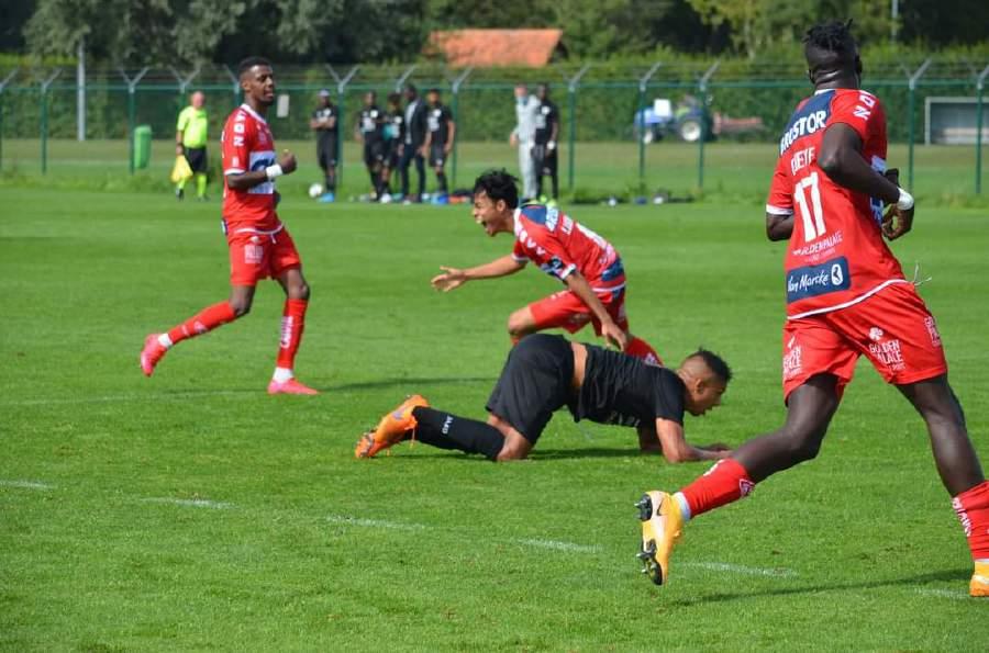 luqman goal belgium Nilai Luqman Hakim Meningkat 200% Selepas Debut Jupiler Pro League