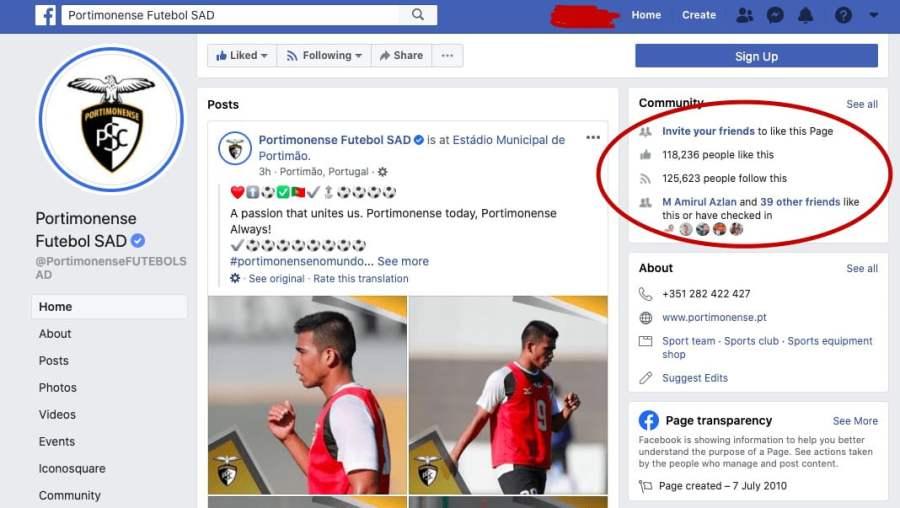 portimonense fb Impak Ekonomi Safawi Menguntungkan Portimonense