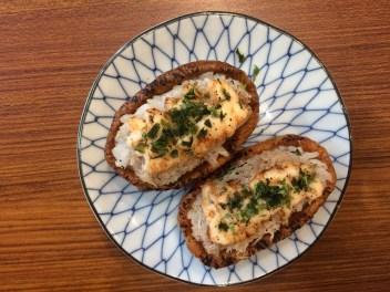 inari kani mentaiyaki