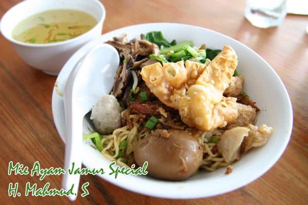 RM Mie Ayam Jamur Special, Ayam Goreng Kriuk H. Mahmud.S 1