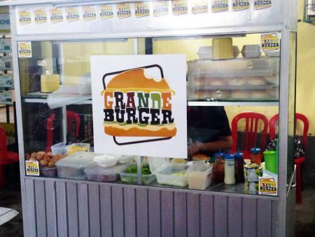 Grande burger stand
