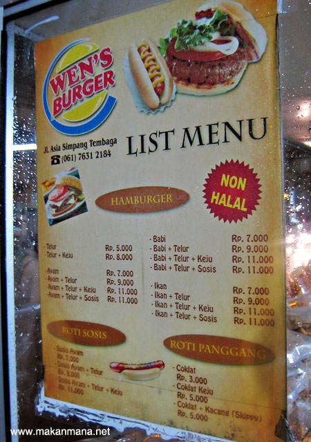 Wen's Burger, Jalan Asia 4