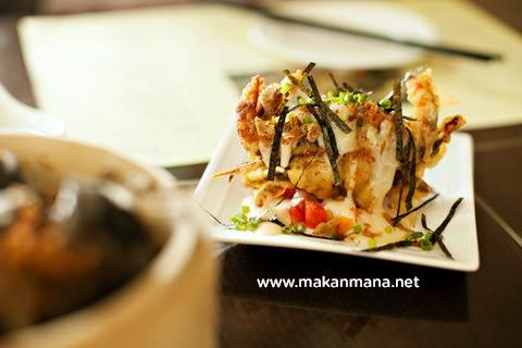 Aryaduta kepiting lunak goreng