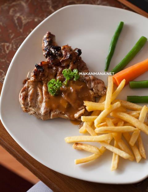 Grilled Chicken Steak - IDR 39