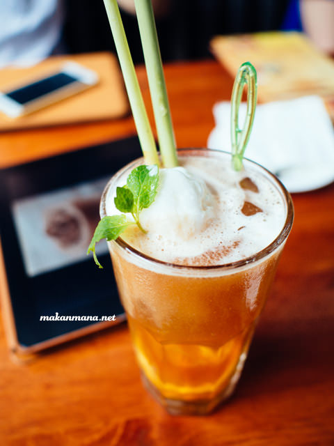 lemon grass ice tea