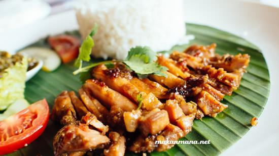 Nasi Ayam Bakar Cabe Ijo