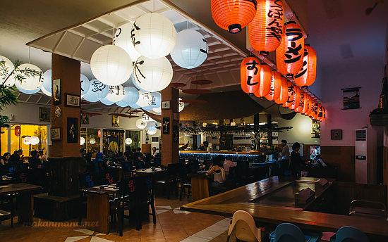 dr sushi interior medan