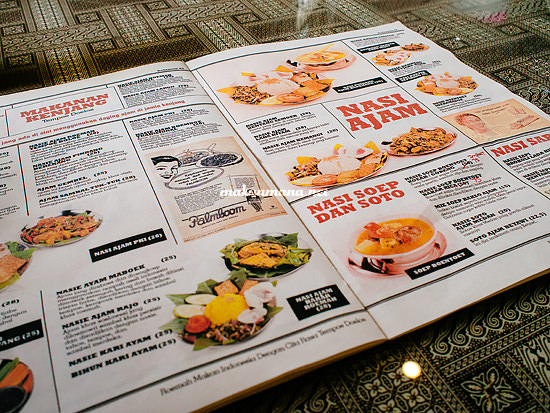 menu roemah indonesia kitchen Roemah Indonesian Kitchen