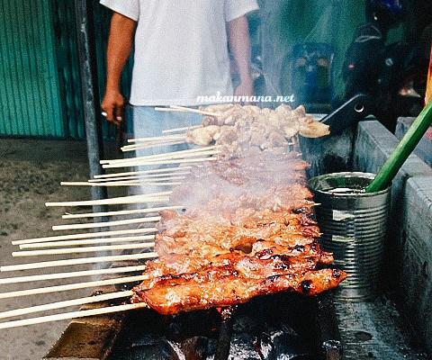Sate Kacang & Gado-gado, jalan Yose Rizal 1