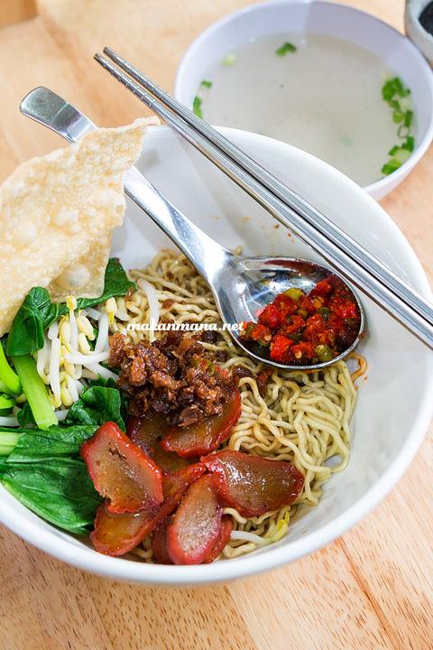 Berkah Vegetarian mie pansit Berkah Vegetarian, Jalan Serdang Ujung